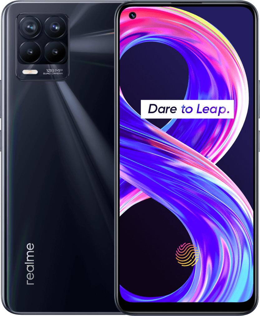 Mobilni telefon REALME 8 PRO, 8GB/128GB, punk črna