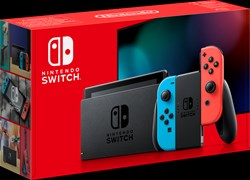 Igralna konzola Nintendo Switch, red/blue Joy-Con, HAD