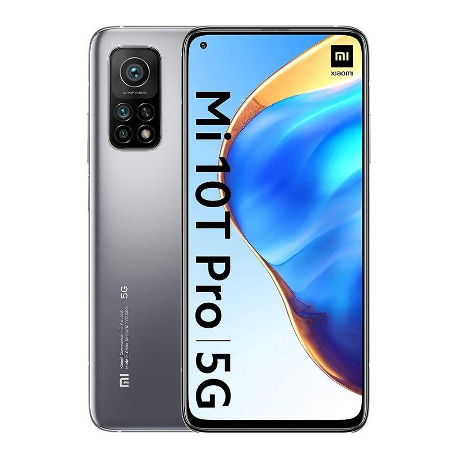 Mobilni telefon Xiaomi MI 10T PRO 8GB + 128GB LUNAR SILVER